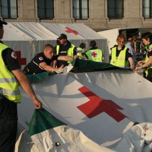 préparation préventif secours Croix-Rouge de Belgique