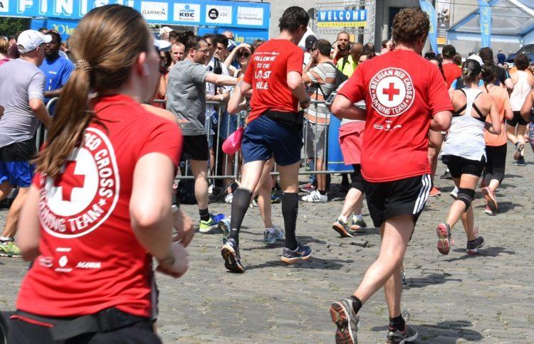 Actions sportives au profit de la Croix-Rouge