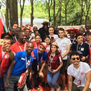 Rassemblement de volontaires à Solferino