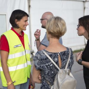 Soutien psychosocial de la Croix-Rouge de Belgique au Dour Festival