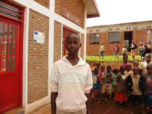 Jean-Baptiste Nzambimana, élève de la province de Mwaro