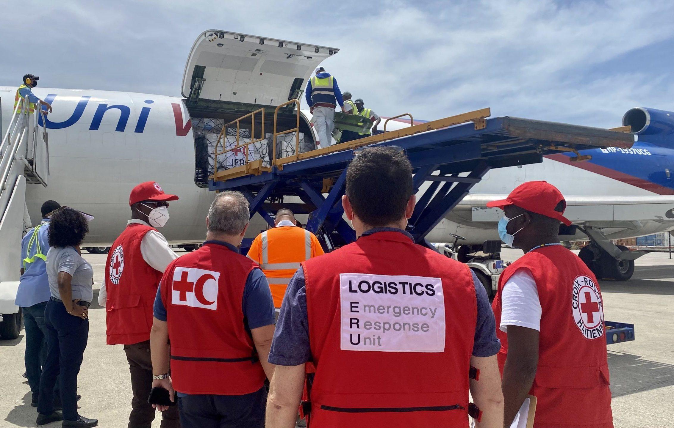 Haiti colis humanitaire