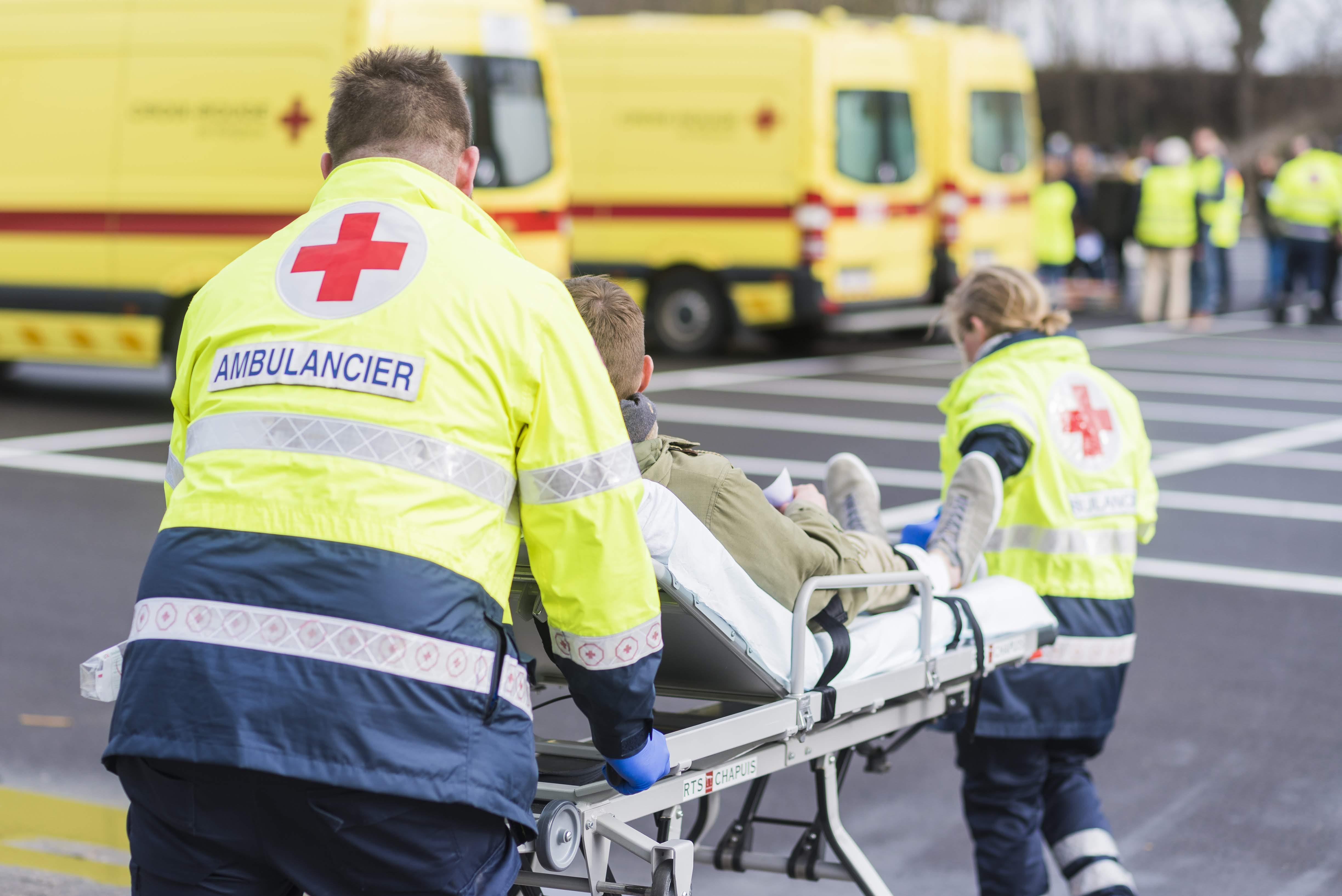 secouristes de la croix-rouge de belgique